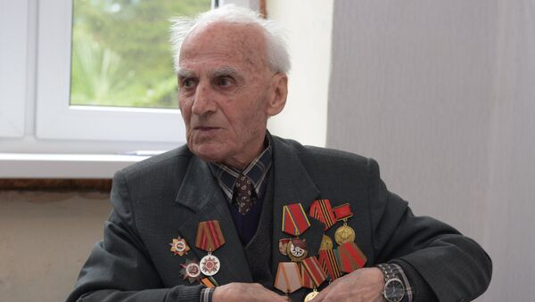 Ветеран ВОВ Берадзе Лаврентий Григорьевич. - Sputnik Аҧсны