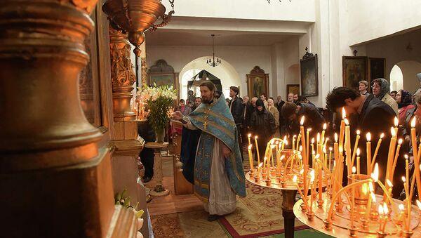 во всех храмах Абхазии будут молиться за защитников Отечества - Sputnik Абхазия