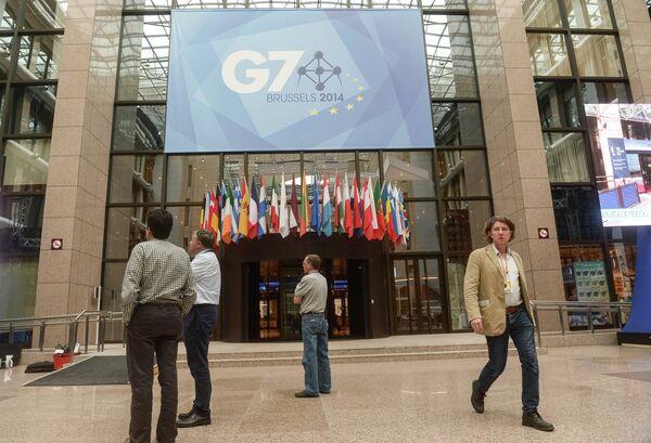 Подготовка к открытию саммита стран G7. Архивное фото. - Sputnik Абхазия