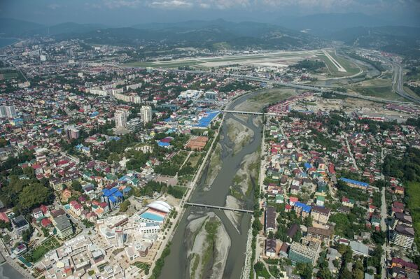 Вид на реку Мзымта. Архивное фото. - Sputnik Абхазия