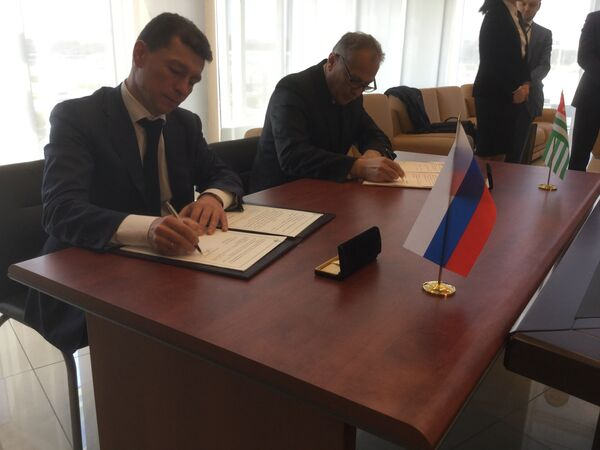 Соглашение о пенсионном обеспечении между Абхазией и Россией подписано - Sputnik Аҧсны