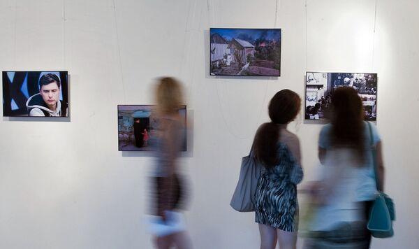Фотовыставка в поддержку фотокорреспондента МИА Россия Сегодня Андрея Стенина - Sputnik Абхазия