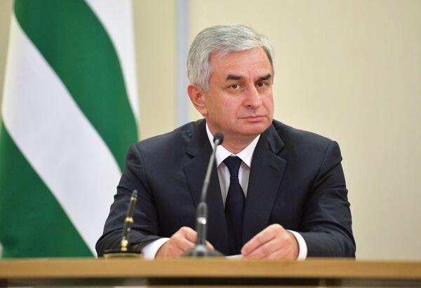 Президент Абхазии Рауль Хаджимба. Архивное фото. - Sputnik Абхазия