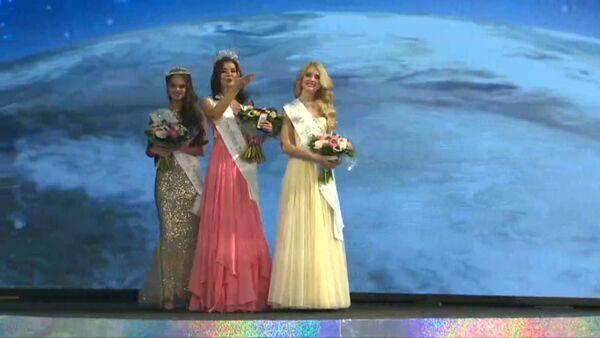 Мисс Россия - 2015 посылала воздушные поцелуи после победы в конкурсе - Sputnik Абхазия
