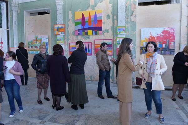 Выставка Марии Пилия Art Station - Sputnik Абхазия