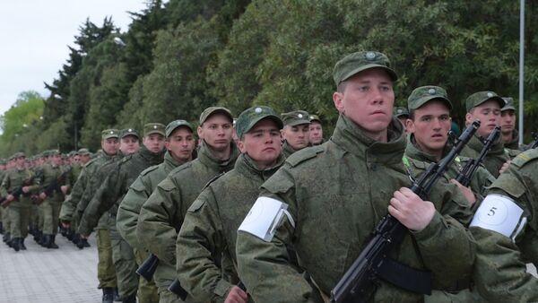 Репетиция парада, посвященного дню Победы в ВОВ, прошла в Сухуме - Sputnik Абхазия