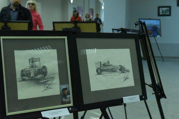 Персональная выставка Екатерины Гуськовой представлена в Олимпийском парке - Sputnik Абхазия