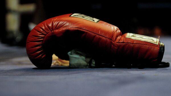 Боксерская перчатка. Архивное фото. - Sputnik Абхазия