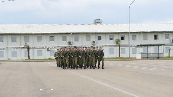 Российская военная база готовится к параду Победы в Сухуме - Sputnik Абхазия