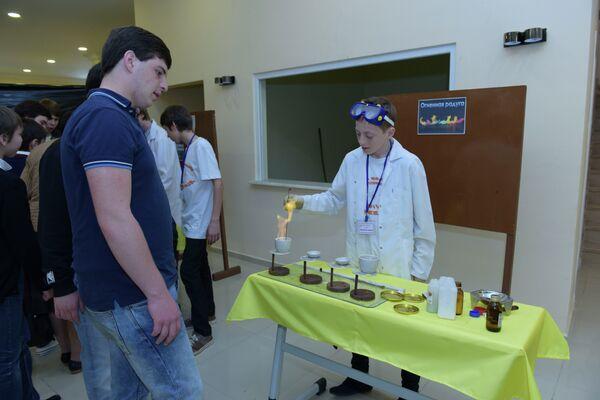 Школьная научная выставка - Sputnik Абхазия