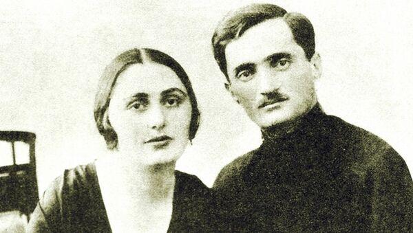 С любимой женой Сарией - Sputnik Абхазия