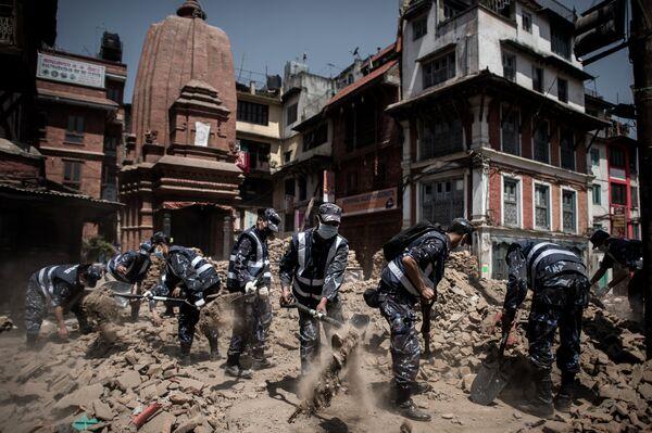 Последствия землетрясения в Непале. - Sputnik Абхазия
