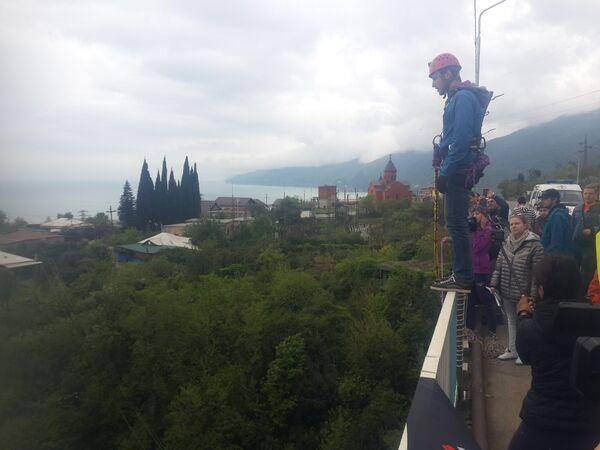 Участники  проекта extreme adventure Activity Team на майские праздники прибыли в Гагру. - Sputnik Абхазия