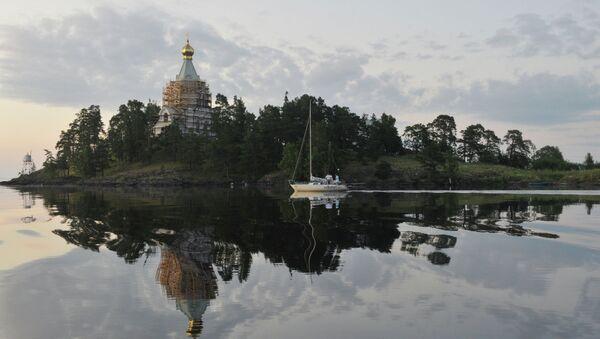 Посещение Святейшим Патриархом Кириллом острова Валаам - Sputnik Абхазия