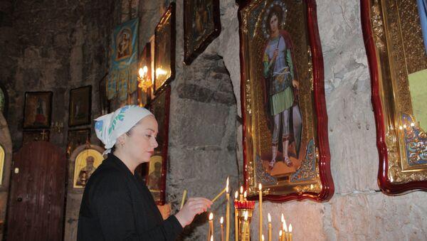 Храм Святого Ипатия в Гагре. - Sputnik Абхазия
