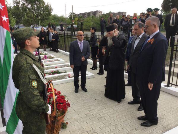 Открытие восстановленного мемориала в Дранде. - Sputnik Абхазия