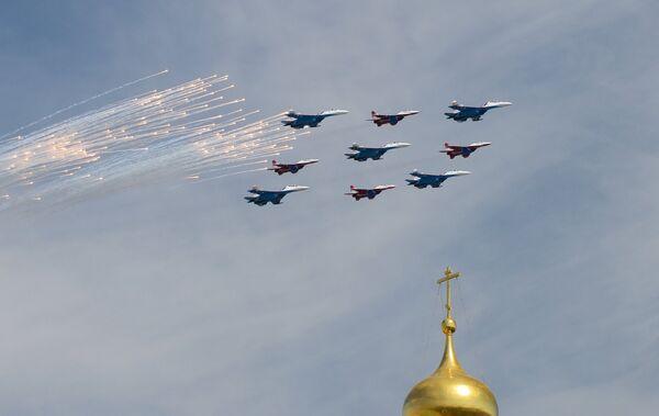 Военный парад в ознаменование 70-летия Победы в Великой Отечественной войне 1941-1945 годов - Sputnik Абхазия