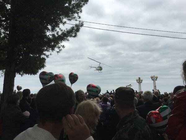 Вертолет памяти Кязыма Агумаа - Sputnik Абхазия