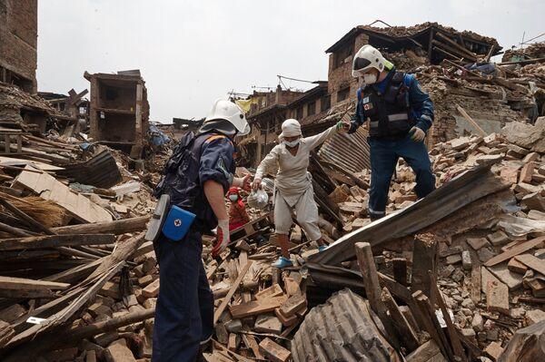 МЧС России участвует в поисково-спасательных работах в Непале.Архивное фото. - Sputnik Абхазия