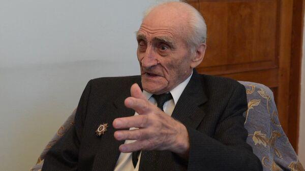 Ветеран Агума вспоминает историю под Будапештом, когда он ослушался приказа начальства - Sputnik Абхазия