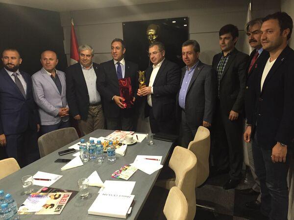 Рабочий визит Беслана Бутба в Турецкую Республику завершился - Sputnik Абхазия