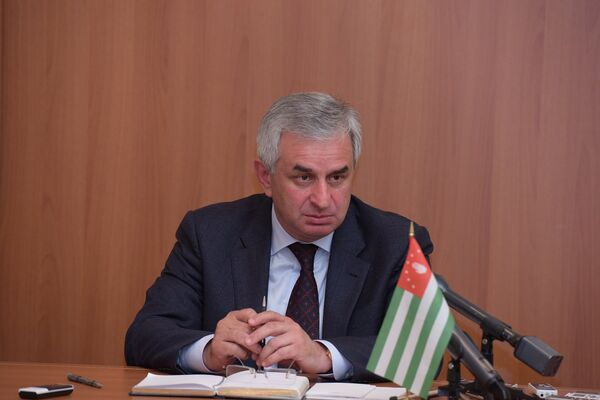 Президент Абхазии Рауль Хаджимба - Sputnik Абхазия
