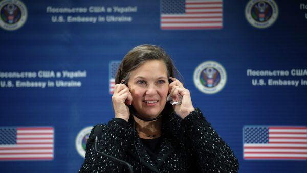 Замгоссекретаря США Викторией Нуланд. Архивное фото. - Sputnik Абхазия