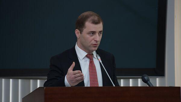 Министр экономики Абхазии Адгур Ардзинба - Sputnik Абхазия