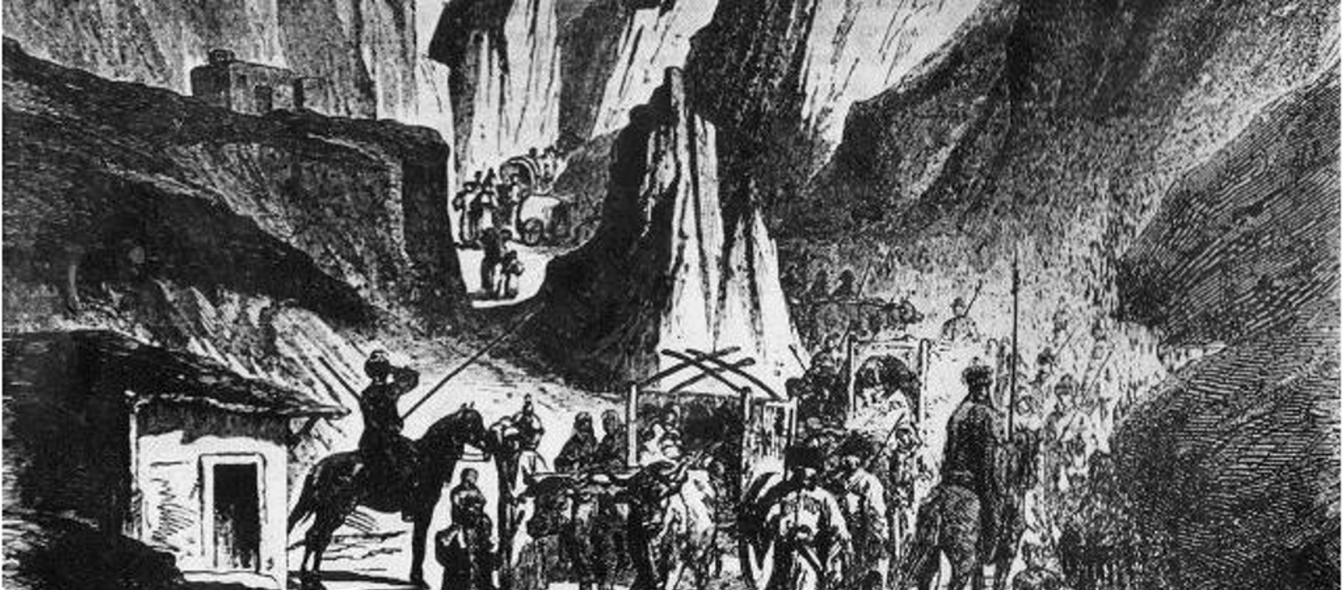 Выселение абхазов – 1867 год. Архивное фото. - Sputnik Абхазия, 1920, 21.05.2015