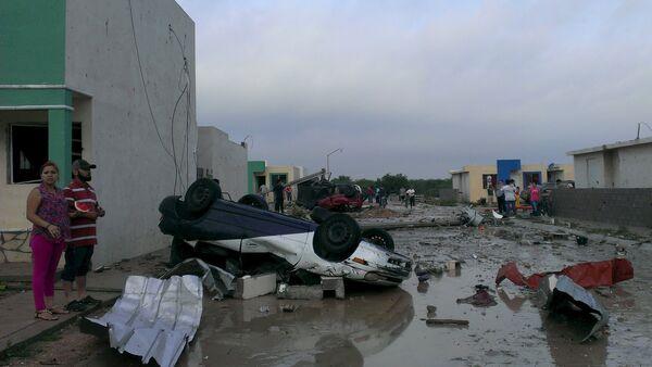 Последствия торнадо в Мексике. - Sputnik Абхазия