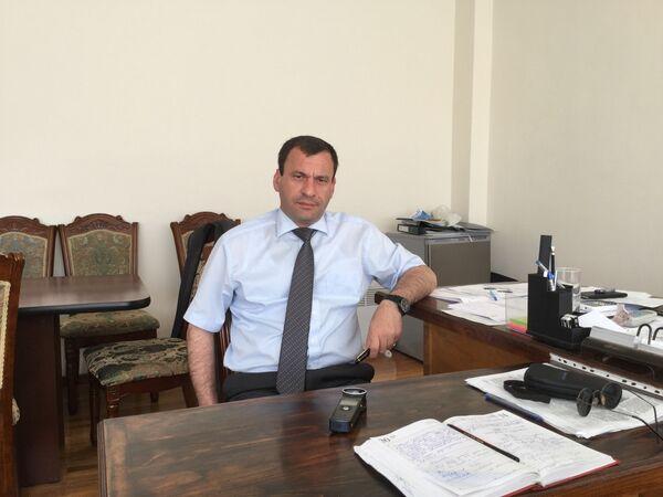 Министр сельского хозяйства Тимур Эшба. - Sputnik Абхазия