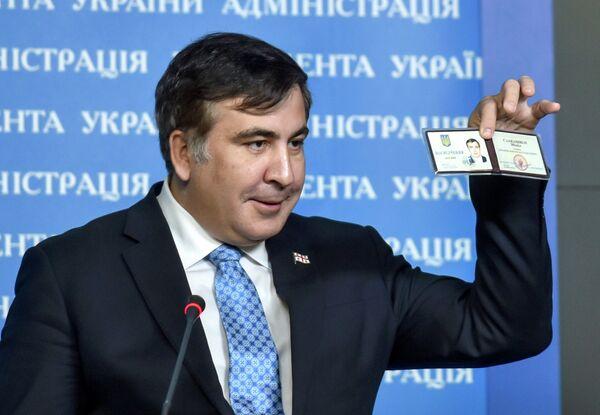 Экс-президент Грузии и советник президента Украины М.Саакашвили - Sputnik Абхазия
