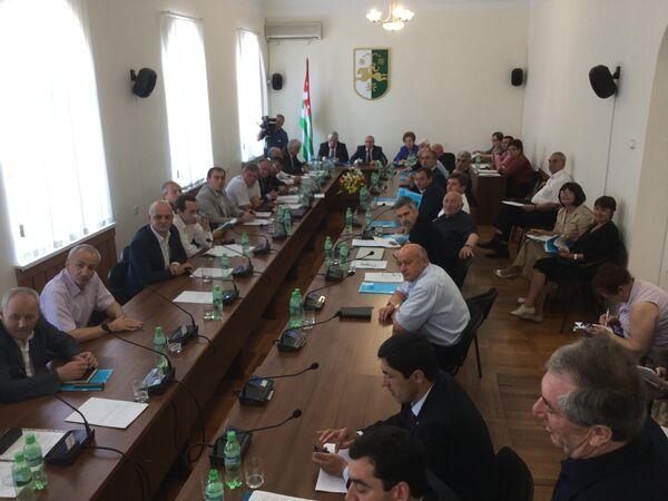 Народное Собрание Республики Абхазии. - Sputnik Абхазия
