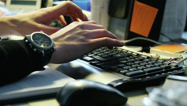 Работа за компьютером. Клавиатура - Sputnik Абхазия