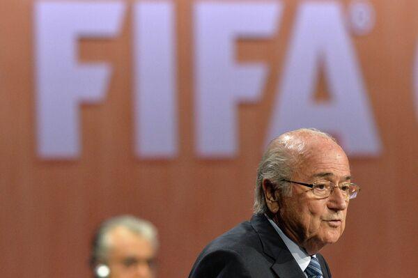 Президент ФИФА Йозеф Блаттер. Архивное фото. - Sputnik Абхазия
