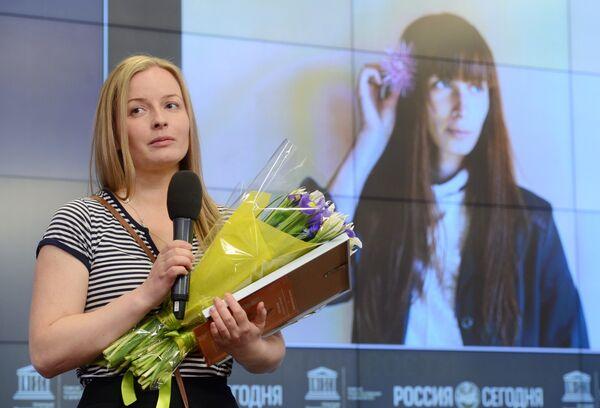 Церемония награждения победителя и призеров Международного конкурса фотожурналистики имени Андрея Стенина - Sputnik Абхазия