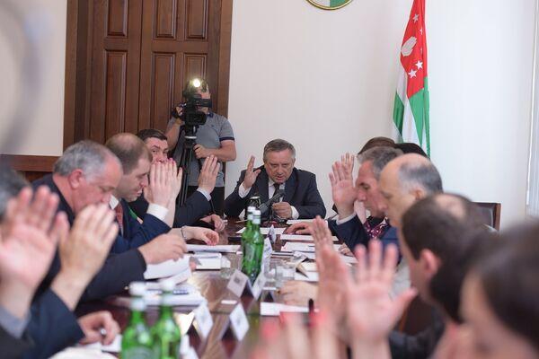 Заседание кабмина - Sputnik Абхазия