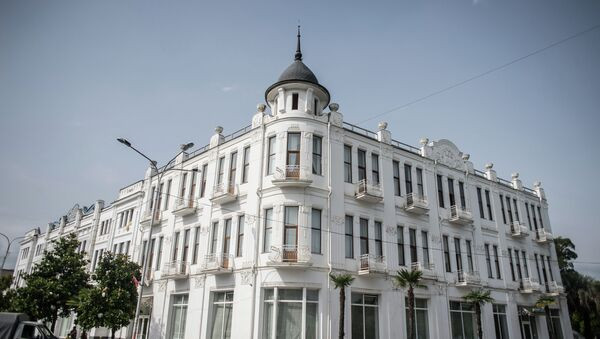 Гостиница Рица в Сухуме. Архивное фото. - Sputnik Абхазия