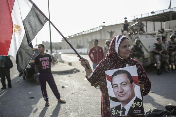 Сторонники экс-президента Египта. Архивное фото. - Sputnik Абхазия