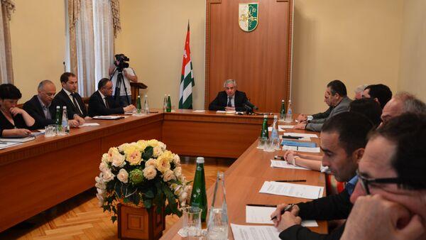 Заседание Комиссии по конституционной реформе - Sputnik Абхазия