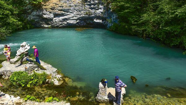 Голубое озеро - Sputnik Абхазия