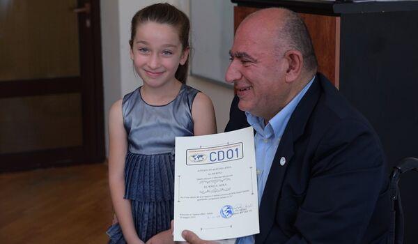 Международная дипобсерватория в Италии отметила талант Эланды Айба - Sputnik Абхазия