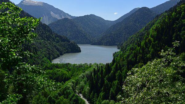 Озеро Рица. - Sputnik Абхазия
