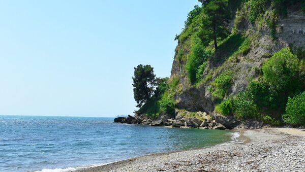 Пляж. - Sputnik Абхазия