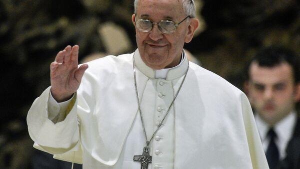 Папа Римский Франциск. Архивное фото. - Sputnik Абхазия