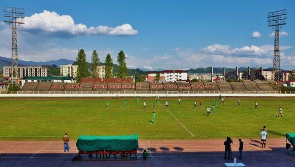 Тренировка сборной Абхазии по футболу. Архивное фото. - Sputnik Абхазия