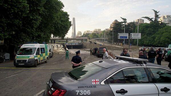 Наводнение в Тбилиси частично парализовало центр города - Sputnik Абхазия