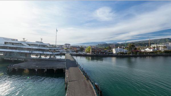 Прогуляться по пристани в Сухуме не выходя из дома - Sputnik Абхазия