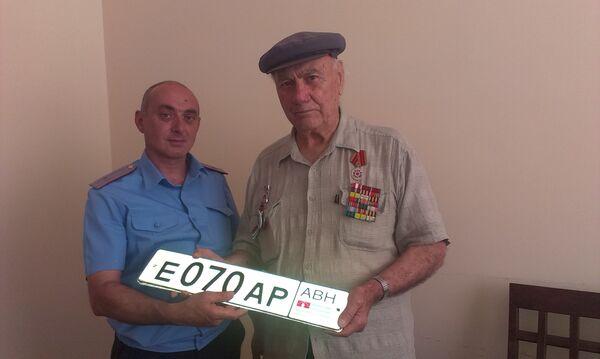 Ветеран ВОВ Арсен Чакрян - Sputnik Абхазия