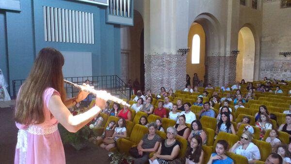 29 юных музыкантов собрал фестиваль «Лира» - Sputnik Абхазия
